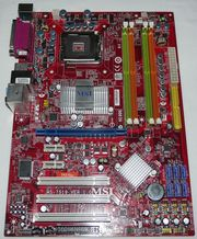 Материнская плата MSI MS - 7519 P45