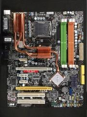 Материнская плата MSI MS-7345 P35,  2xPCI-E x16 CrossFire,  Intel Core 2